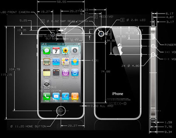 Iphone-4-cad-drawings-28-07-2010