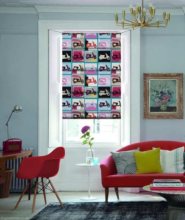 Lambretta_bella_pop_art_roman_blinds