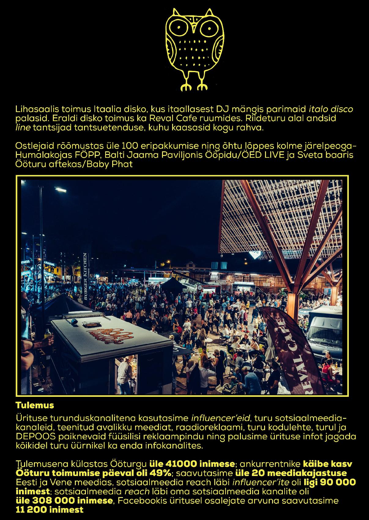 23ffe83cb3e Ööturg Balti Jaama Turul #2 - Kuldmuna 2019