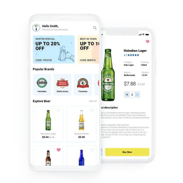 Tipsy-on-demand-beer-delivery-app-indiaappdeveloper-portfolio